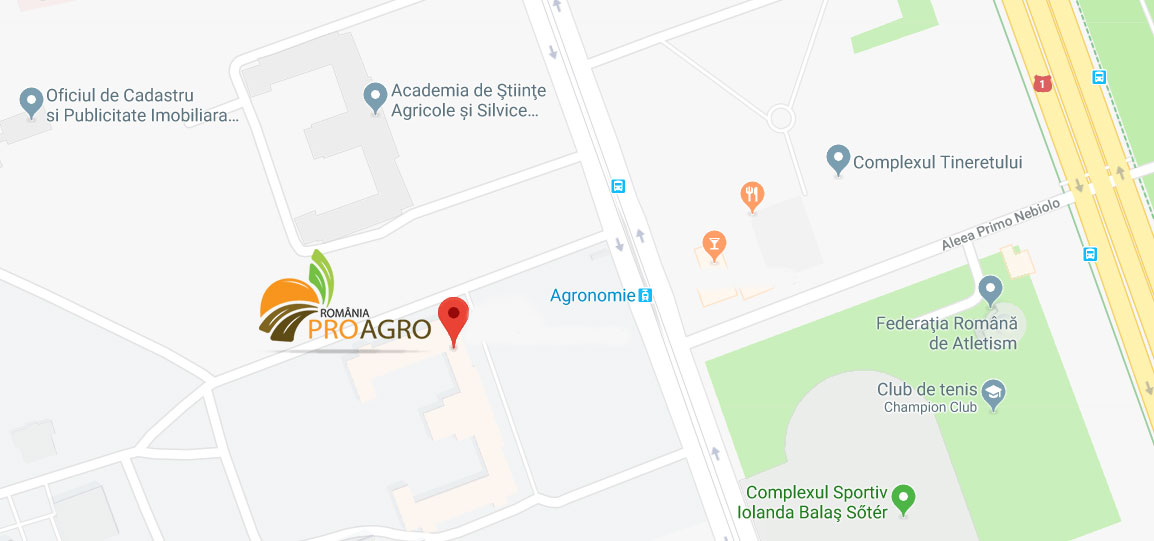 contact PRO AGRO Agronomie 2018